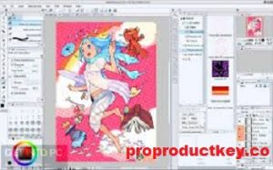 Clip Studio Paint Pro 1.10.6 Crack + License Key Full Download 2021